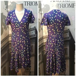 Chelsea28 Floral Print Wrap Dress